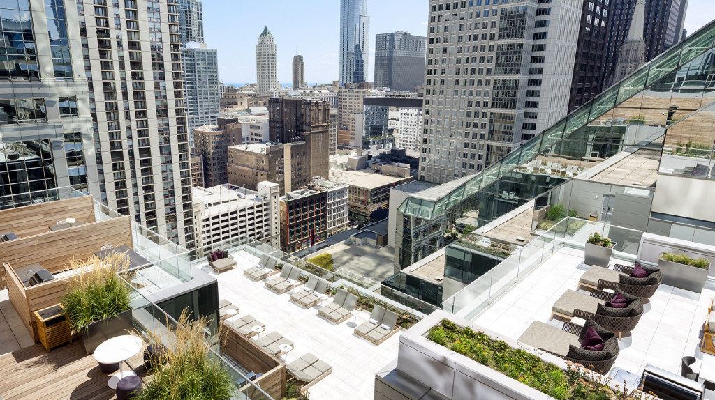 See the World Different from the OneEleven Rooftop