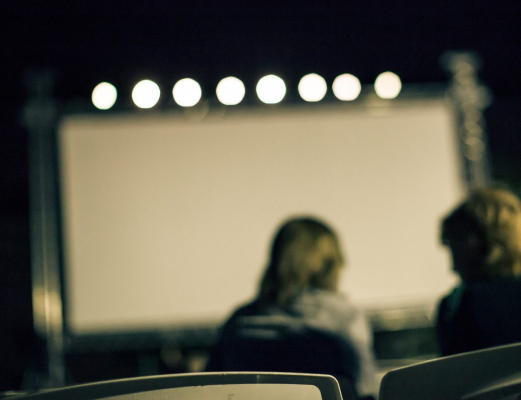 Screening a new movie at the Film Festival