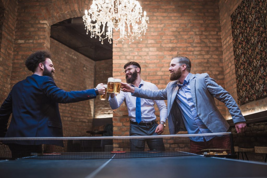 Order drinks and play ping pong or arcade games in Chicago at these fun bars.